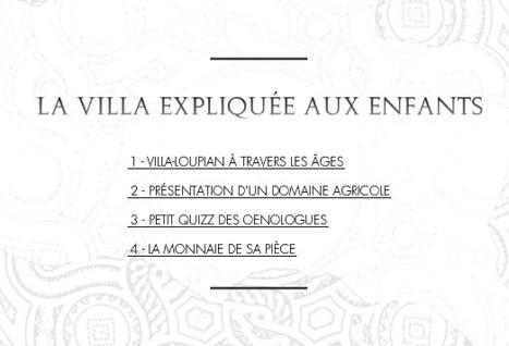 Villa villae: la villa expliquée aux enfants | Salvete discipuli | Scoop.it