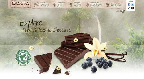 25+ Scrumptious Chocolate Websites for Inspiration | Bloom Web Design Blog | Webdesign Glance | Scoop.it