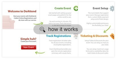 Announce, Promote and Sell Your Event with DoAttend | Time to Learn | Scoop.it