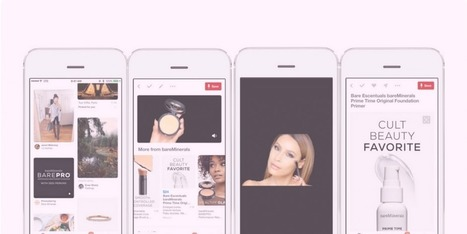 Pinterest gets serious about video as it unveils new ad format with General Mills, bareMinerals and Kate Spade as launch partners  | Pinterest | Scoop.it