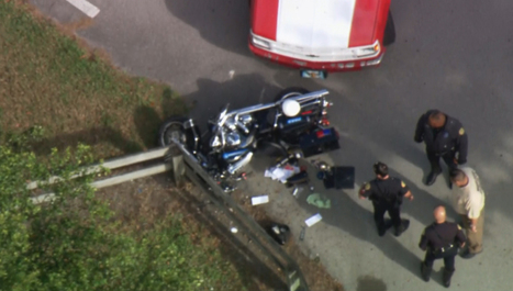 Officer injured in crash with truck   READ WHAT I READ   Scoop.it