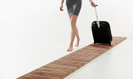 A Musical Floor That Cures The Boredom Of Walking In Airports | Design | Scoop.it
