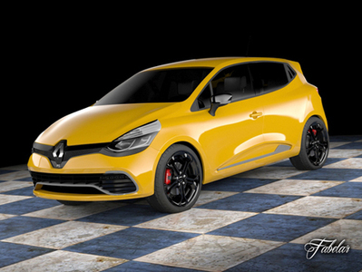 Renault Clio Rs 2013 3D - 3D Library Blog | 3D Library | Scoop.it