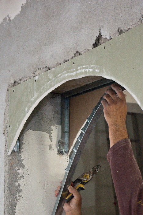 How to build a drywall arch | HowToSpecialist - How to Build, Step by Step DIY Plans | Home Repair | Scoop.it