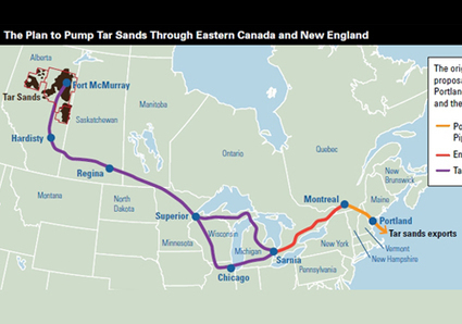 Largest Unified Protest in Northeast Against Tar Sands Begins Today | EcoWatch | Scoop.it