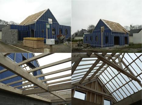 """"""" Carnet de chantier N°12-04 / Construction d'une maison RT 2012 à Plumergat, Morbihan """"- a.typique Auray   architecture..., Maisons bois & bioclimatiques   Scoop.it"""