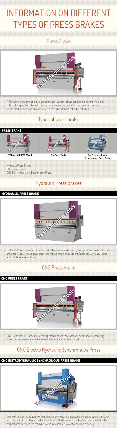 Information on Different Types of Press Brakes [INFOGRAPH]   Lathe Machines   Scoop.it