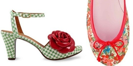 Le scarpe da donna si vestono di fiori e colori per l'estate - Sfilate | fashion and runway - sfilate e moda | Scoop.it