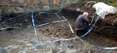 Unusual human bone assemblage from Edinburgh back garden | Archaeology News | Scoop.it