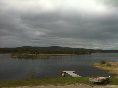 Inari lake | Flickr - Photo Sharing! | Finland | Scoop.it