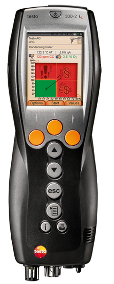Testo 330 LL - The only flue gas Analyzer with up to 6 years' sensor lifetime. | Flue Gas Analyzer | Scoop.it