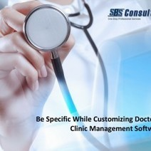 Be Specific While Customizing Doctor & Clinic Management Software | Visual.ly | Business Software Provider | Scoop.it
