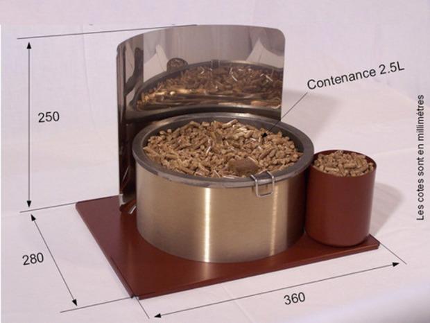 [innovation] Chauffage : pellets pour poêle et cheminée | La Revue de Technitoit | Scoop.it