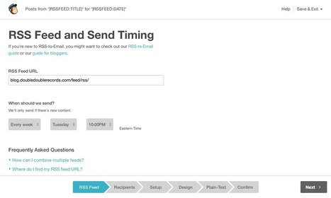 Promote Your Blog Content With This 'RSS to Email' Trick | MarketingHits | Scoop.it