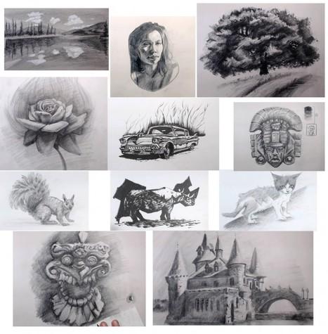 Croquis vivants | Dessin Club | Apprendre a dessiner | Scoop.it