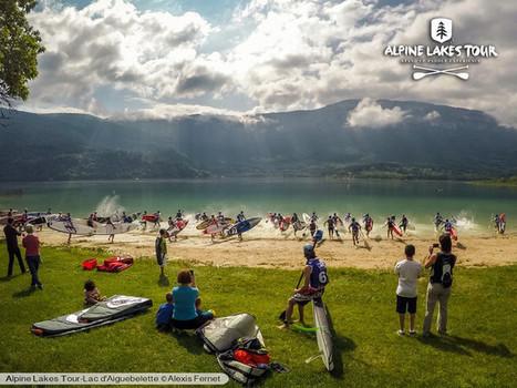 Une belle 1ere course sur le lac d'Aiguebelette ! | Stand up paddle | Scoop.it