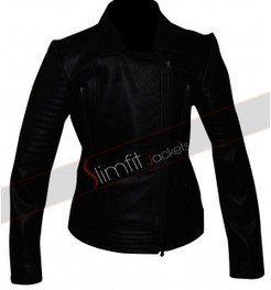 Gal Gadot Fast Furious 6 Jacket | Designers Women Leather Jackets & Pants | Scoop.it