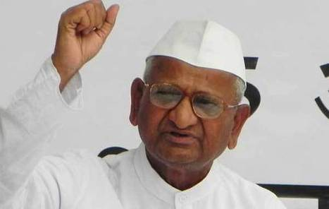 Congress, BJP join race to support Anna on Lokpal | India News | Scoop.it