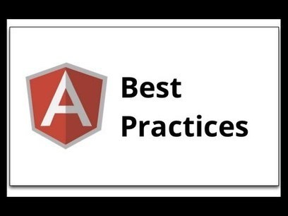 Opinionated AngularJS styleguide for teams | bytheway | Scoop.it