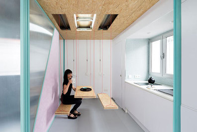 Day-in-the-life: Living in an apartment with moving parts | PROYECTO ESPACIOS | Scoop.it