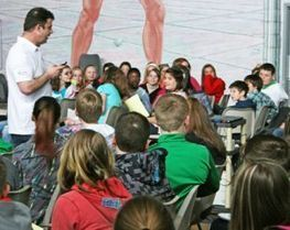 Health issues stressed for students at school fair - Southern Gazette   Healthy College   Scoop.it