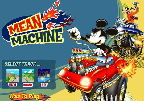 Mickey Mean Machine | cartoon mini | Scoop.it