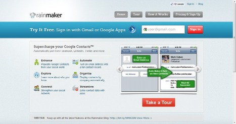 The Rainmaker Application   Time to Learn   Scoop.it