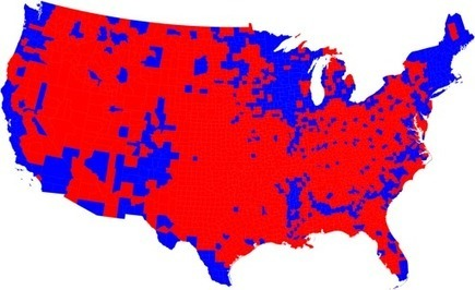 2008 Election Maps | Geography | Scoop.it