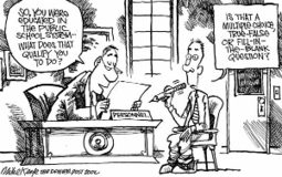 standardized-test-cartoon.jpg (300x188 pixels) | Standardized Testing in Schools | Scoop.it