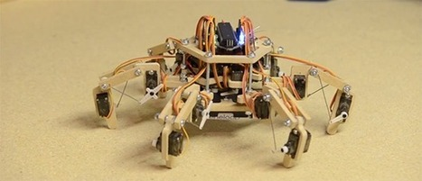 Stubby, The Adorable And Easy To Build Hexapod | Heron | Scoop.it
