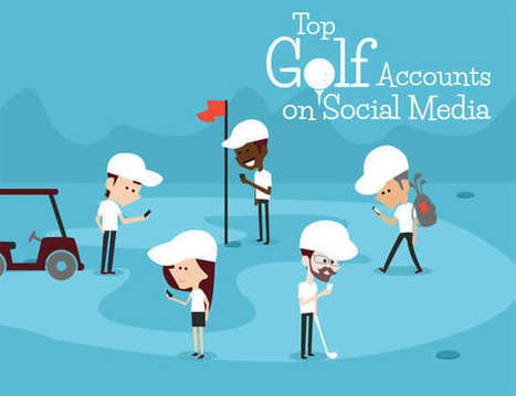 Top Golf Accounts on Social Media [INFOGRAPHIC] | Infographics by Infographic Plaza | Scoop.it