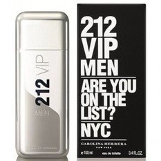 212 VIP By Carolina Herrera For Men (100ml) | Design Technology | Scoop.it