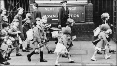 WW2 Evacuation Facts | Primary Facts | Evacueees and the Blitz | Scoop.it