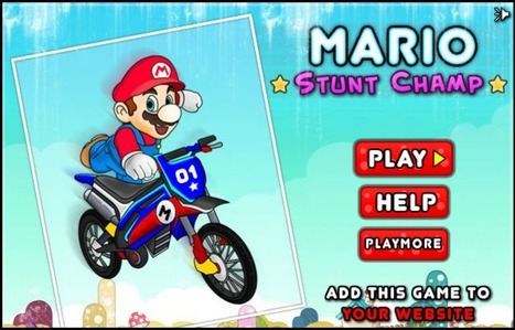 Mario Stunt Champ | Mario Games | Sonic Games | Scoop.it