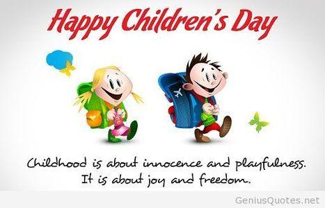 Happy Children's Day...!!!  #kids #childrensday | Games & Technolgy | Scoop.it