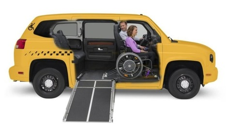 Nissan NV200 vs. VPG MV-1: Which is the Better Wheelchair-Accessible Taxi Design? | Accessible Travel | Scoop.it