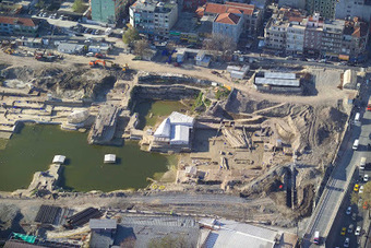 TURQUIE : Heavy equipment damages Yenikapı excavation site | World Neolithic | Scoop.it