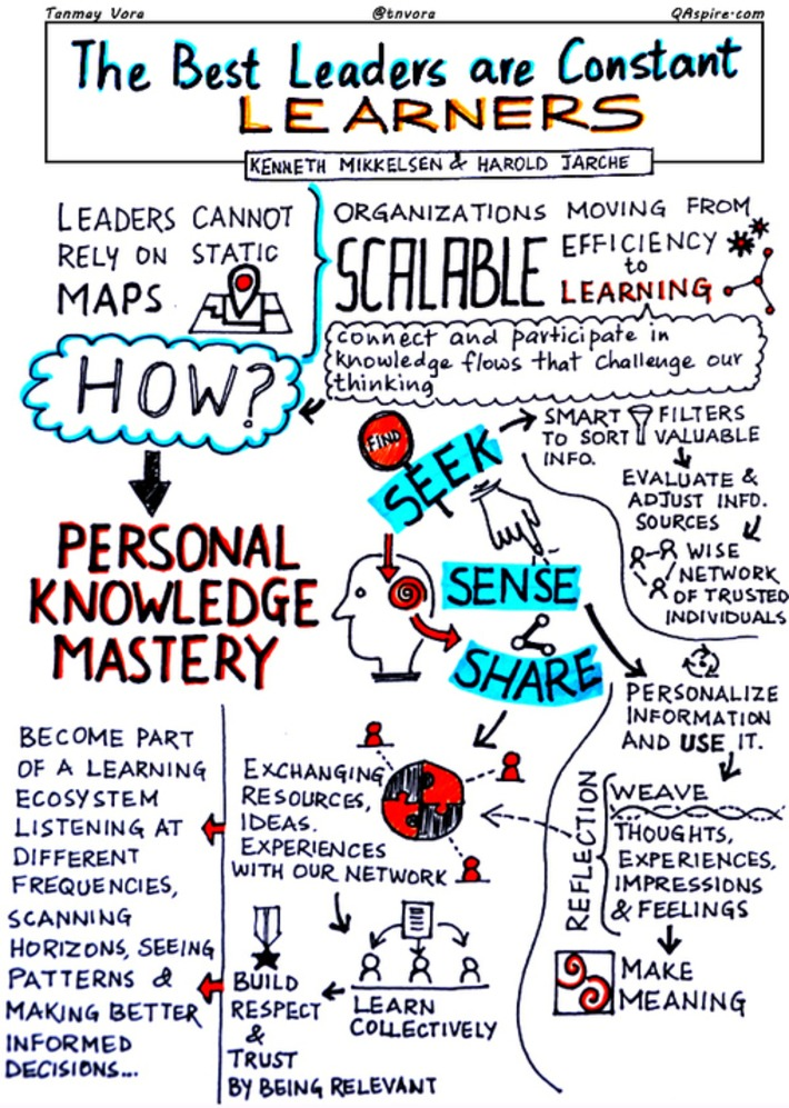 Developing Mastery in a Digital Age | Personal Knowledge Mastery | Scoop.it