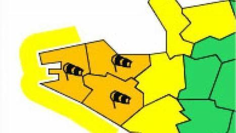 Météo: vent violent. Trois départements Bretons en vigilance orange   Ma Bretagne   Scoop.it