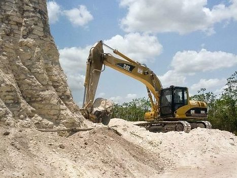 Ancient Mayan Pyramid Destroyed in Belize | Ancient Archeology | Scoop.it