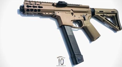 Quarter Circle 10 teasing upcoming side-charging Glock AR - Guns.com   Firearms   Scoop.it