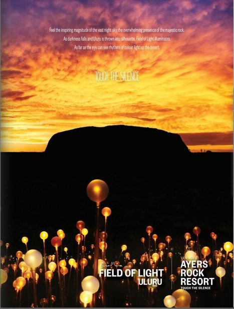 Uluru like you've never seen it before | Field of Light | Psytrips | Travel | Scoop.it