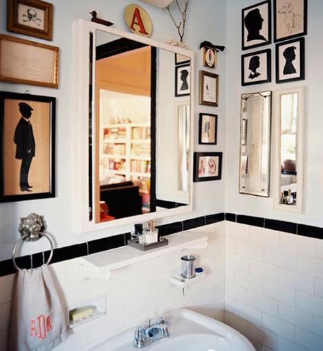 9 Façons d'Intégrer de l'Art dans votre Salle de Bain   Décoration maison intérieure et extérieure   Scoop.it
