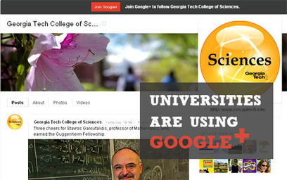 31 Great Ways Universities Are Using Google+ | E-Learning and Online Teaching | Scoop.it