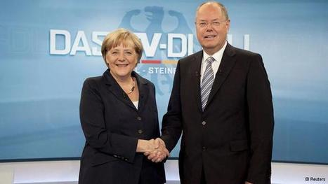 German TV debate highlights differences | Eurozone | Scoop.it