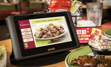 Focus sur les tablettes tactiles installées dans les restaurants Applebee's | La Minute Retail | E-experience : magasin connecté et Cross Canal | Scoop.it