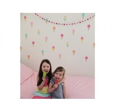 Removable Speckled House Ice Cream Dream Wall Decal | online shopping | Scoop.it