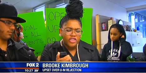 Black Student Holds Protest After Getting Rejected From Top University | Black People News | Scoop.it