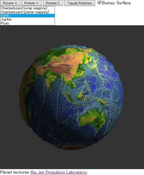 Real-Time Rendering · Reflections on a WebGL MOOC | Fred's E-Learning reads | Scoop.it