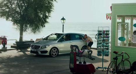 Publicité TV de la nouvelle Mercedes Classe B   Publicité - Advertising   Scoop.it